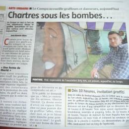 Chartres sous les bombes